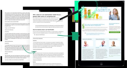 Content design voorbeelden - Liesbeth Smit