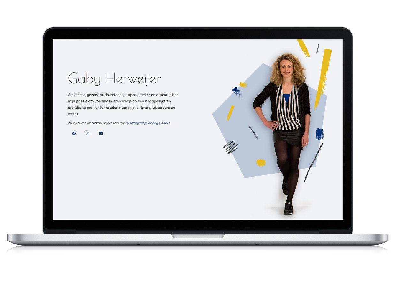 Website Gaby Herweijer
