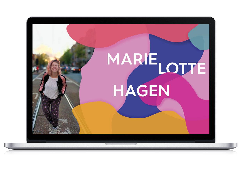 Website Marie Lotte Hagen