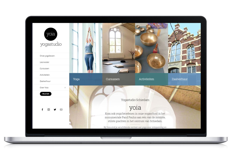 Liesbeth Smit webdesign portfolio Yoia