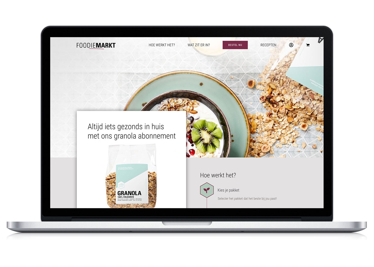 Foodie granola website