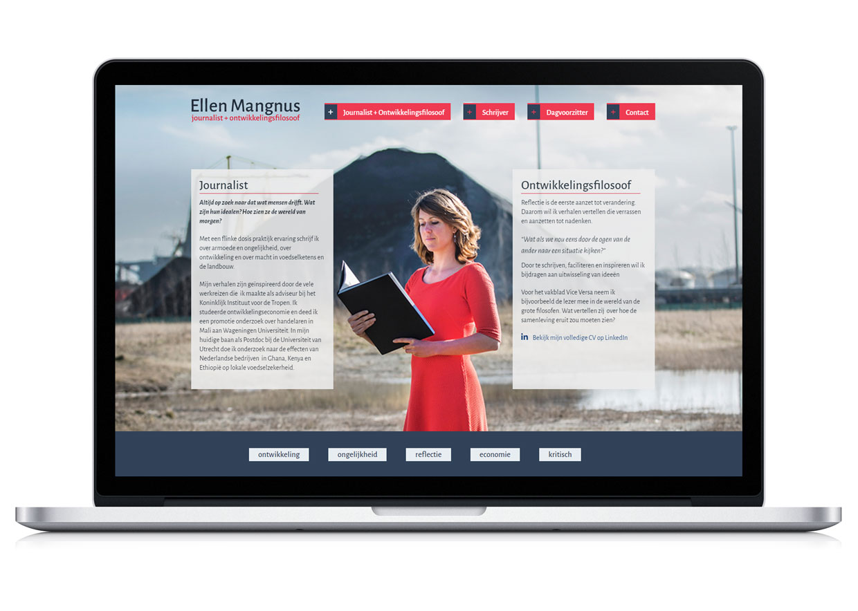 Website Ellen Mangnus