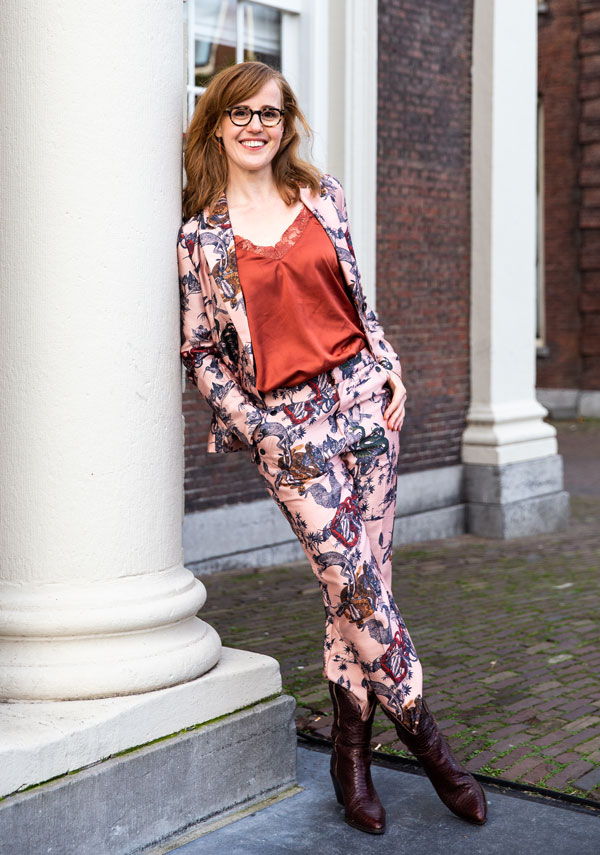 Portret Liesbeth Smit, fotograaf Hannelore Smilde