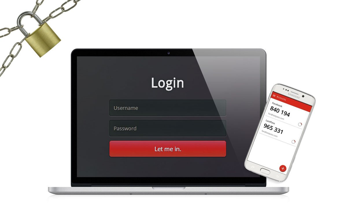 Veilig wachtwoord en 2-factor authentication