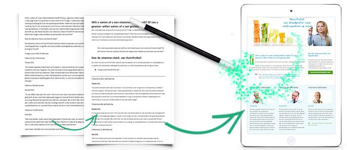 Content design maakt van jouw teksten een gebruiksvriendelijke website