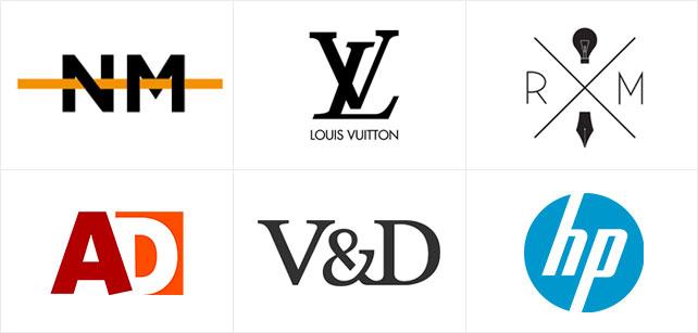 23d4c132cc8 Dan is wellicht een letter logo een goede keuze. Bij een onbekend bedrijf  zou ik de volledige naam er wel onder zetten, tenzij je echt alleen de  letters als ...