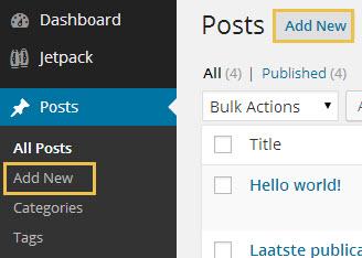 wordpress-handleiding-posts
